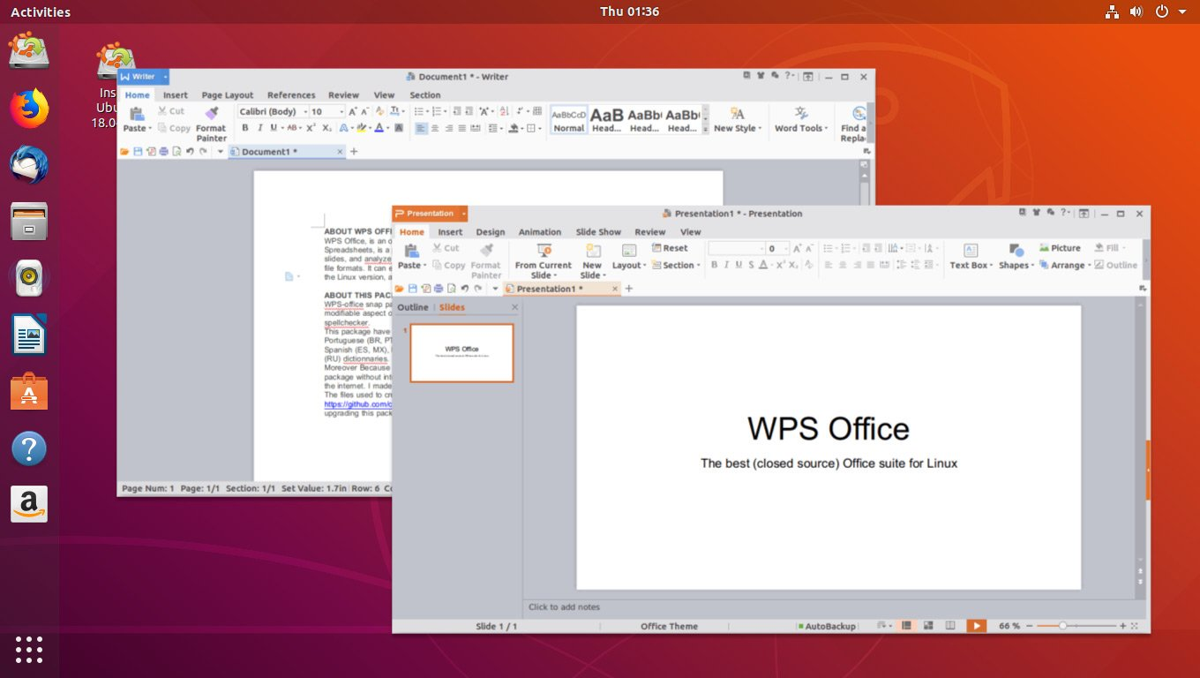 2. Linux WPS Office