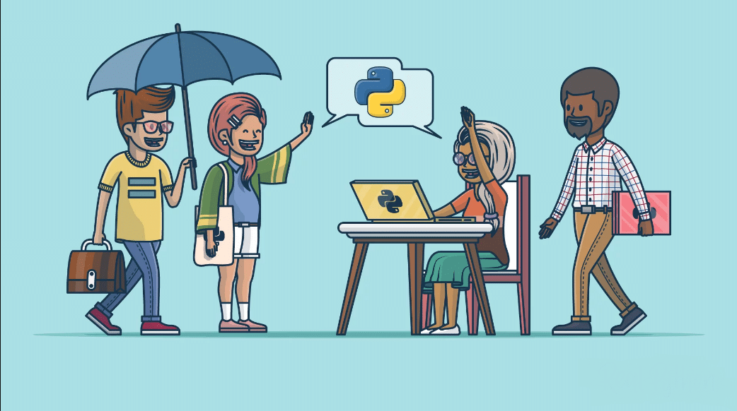 Ask for Help — Join the Python Community!