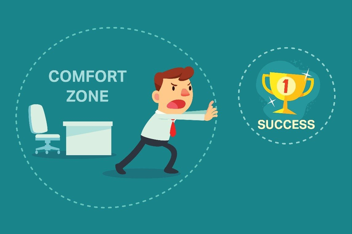 Get Out of Your Comfort Zone and Challenge Yourself!