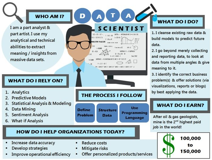 example of a data scientist