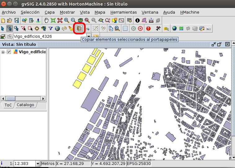 gvSIG Desktop - Geoscience Software for Linux