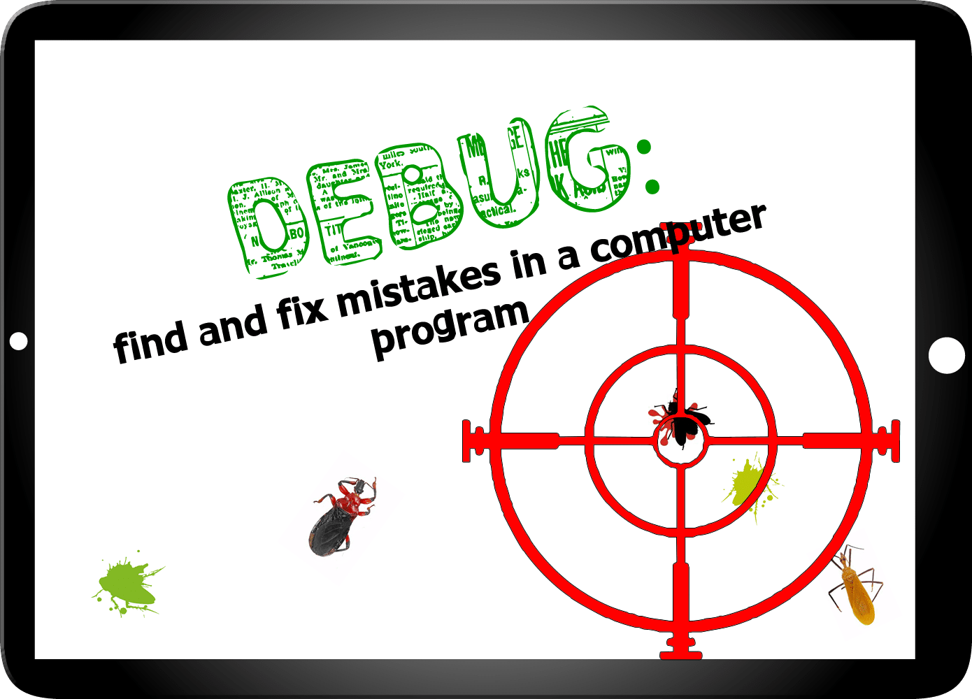 debug in coding interview questions