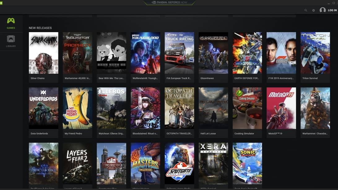 geforce now Cloud Gaming Companies