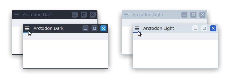 Arctodon - Xfce theme manager