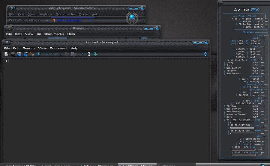 Azenis - Xfce theme manager