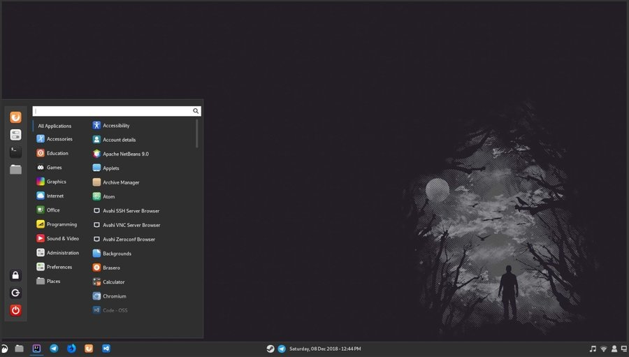 CBlack - Linux Mint Themes