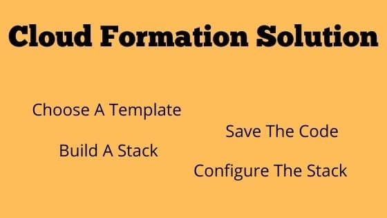 Cloud Formation Solution