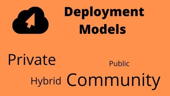 Deployment Models for aws interview