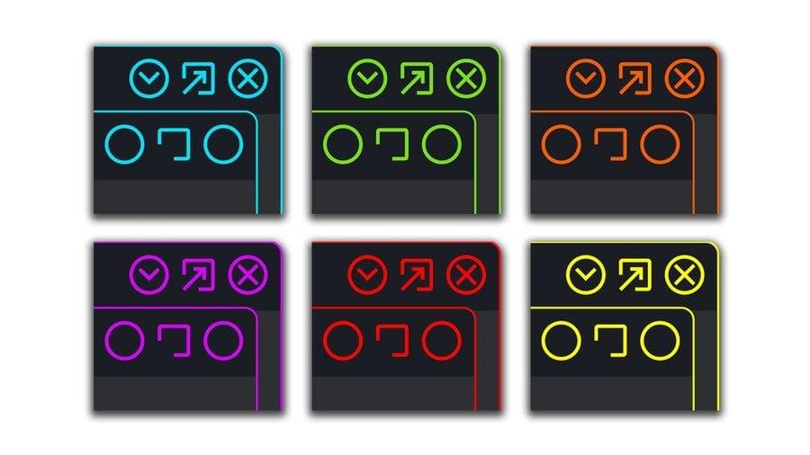Neon Knights - Best Xfce themes
