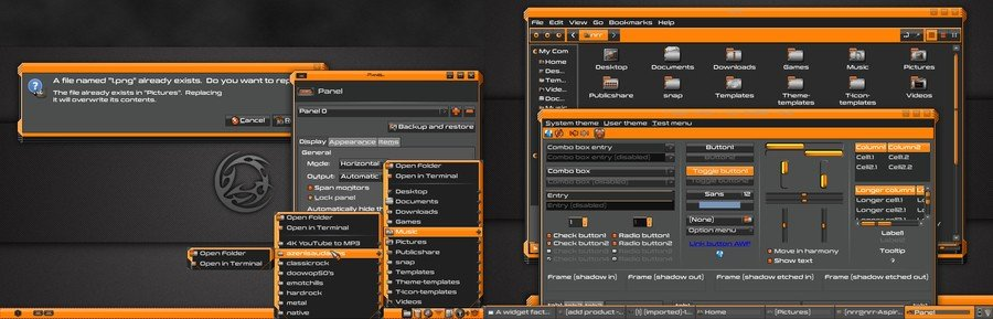 Ninja - Best Xfce themes