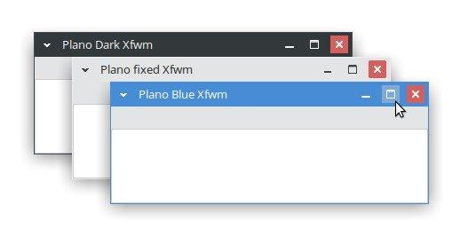 Plano - Xfce themes