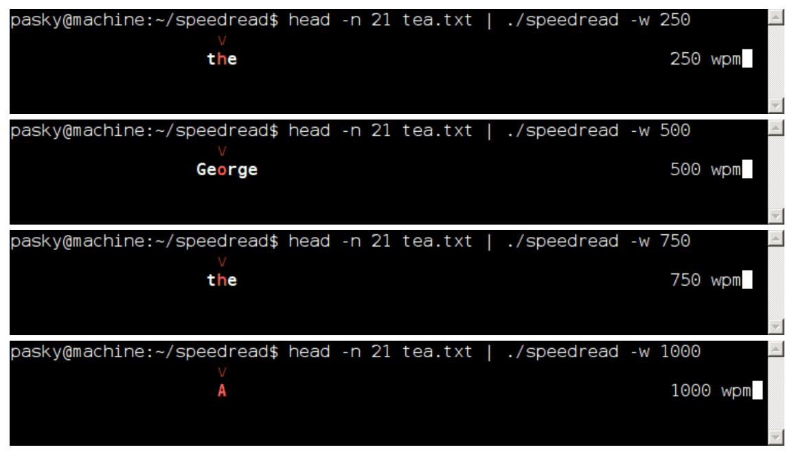 SpeedRead - Linux Speed Reading Tools