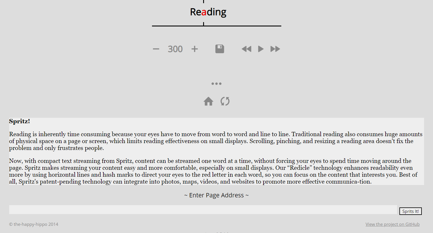 Sprits it - Linux Speed Reading Tools