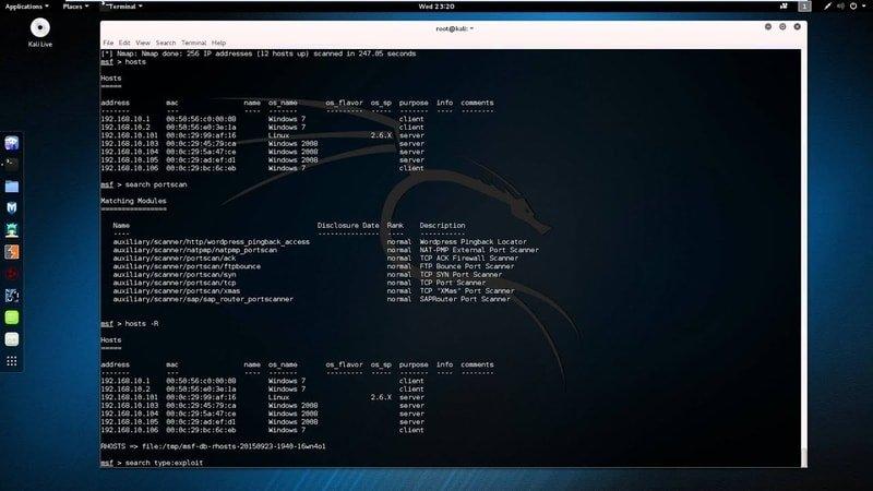 metasploit in open source security tools