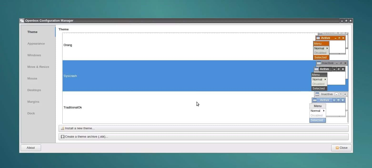 customizing openbox
