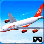 16. VR Airplane Flight Simulation