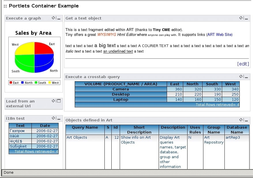 ART-A Reporting Tool - business intelligence tools