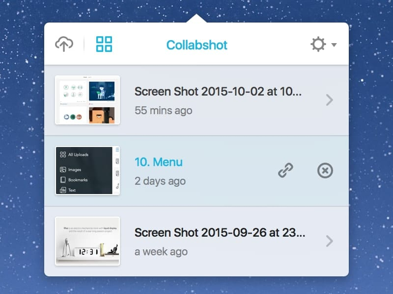 Collabshot screenshot tool