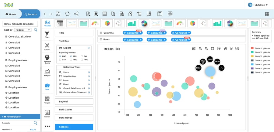 Helical Insight - business intelligence tools