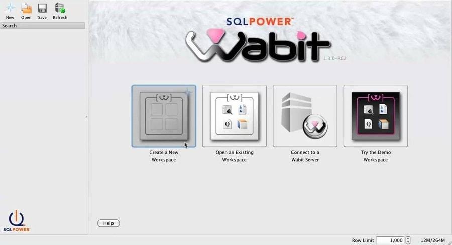 SQL Power Wabit - business intelligence tools