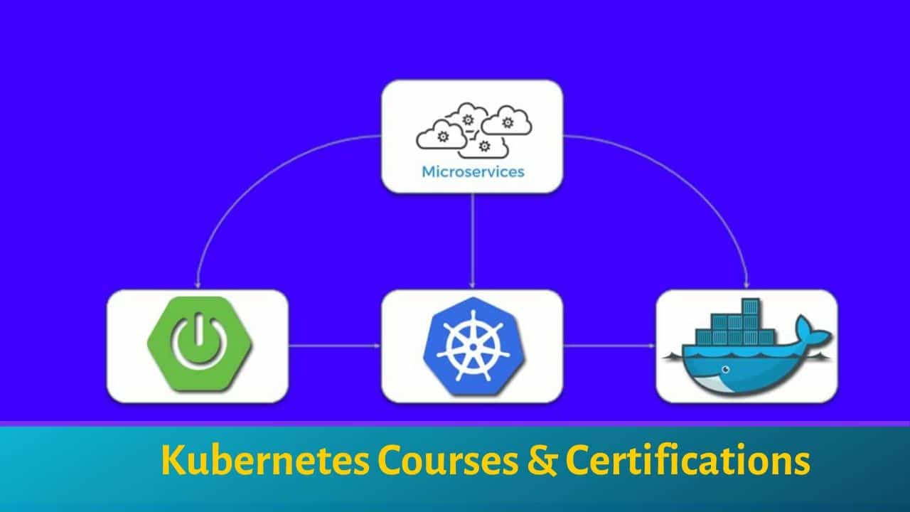 Kubernetes courses and certifications