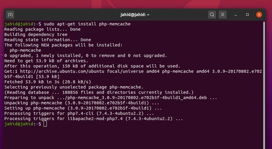 Memcached on Ubuntu Linux install php memcache