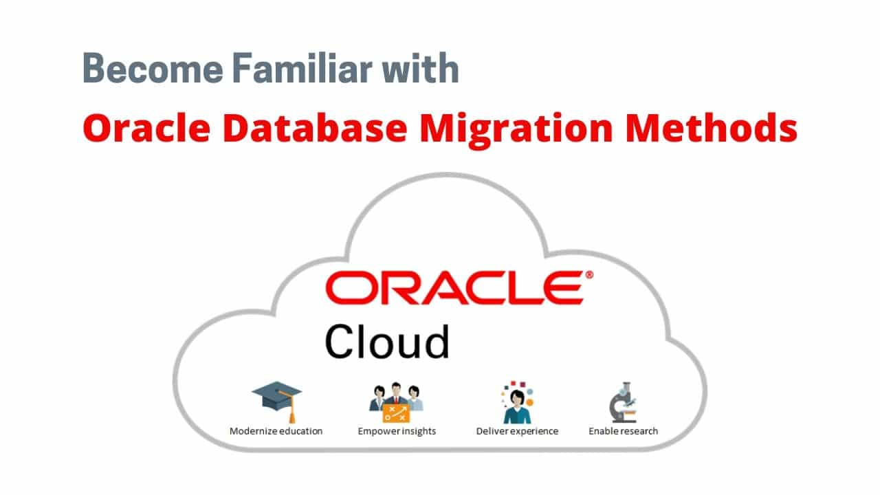 Course for Data migration methods in Oracle Cloud
