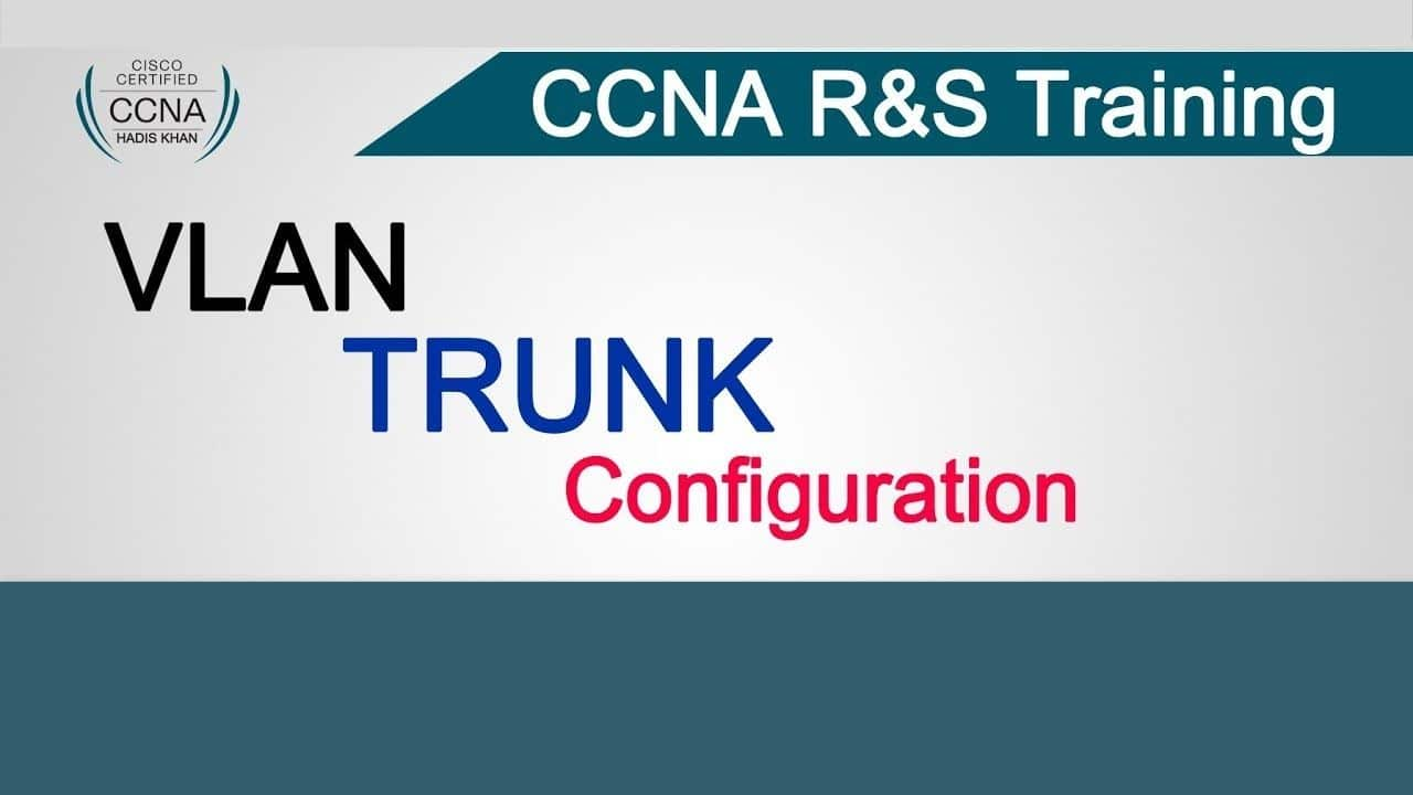 VLAN and TRUNK Configuration