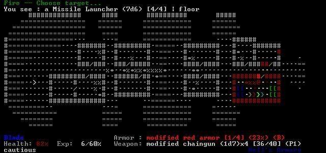 doom_rl - ASCII Games on Linux