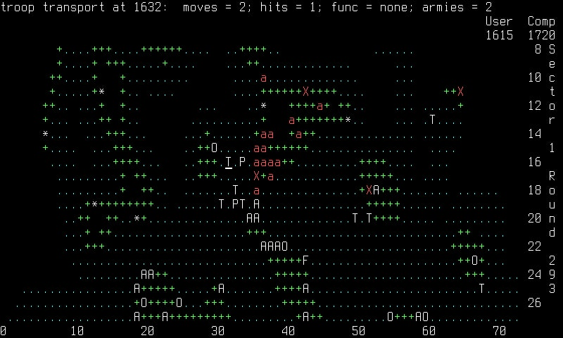 empire - ASCII Games on Linux