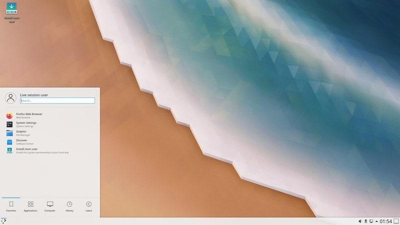 kde_neon - ubuntu derivatives