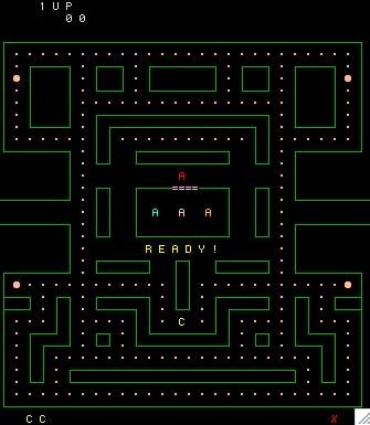 myman - ASCII Games on Linux