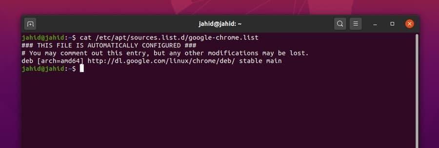 stable google chrome on linux