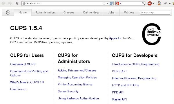 ubuntu cups server
