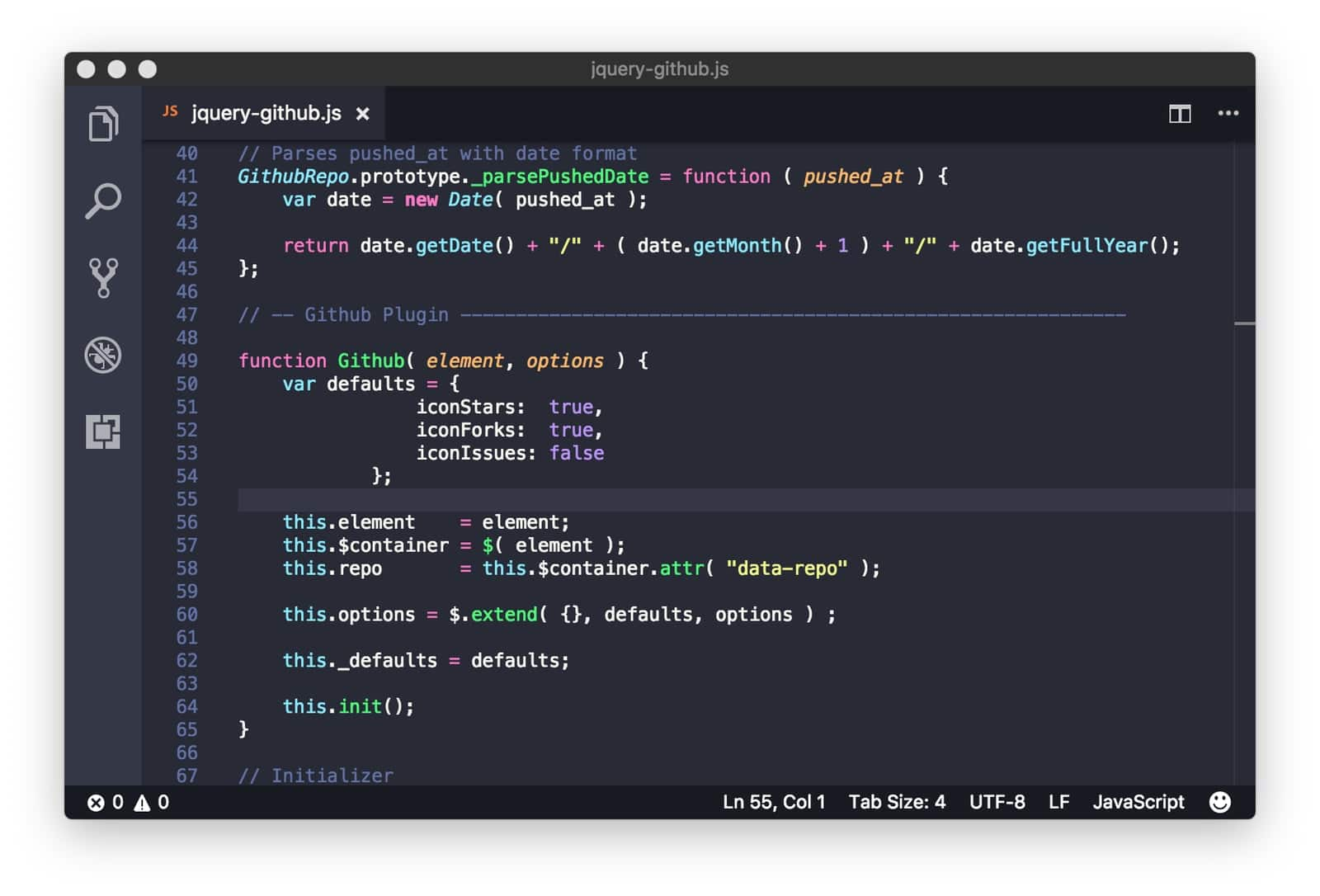 darcula in vscode themes