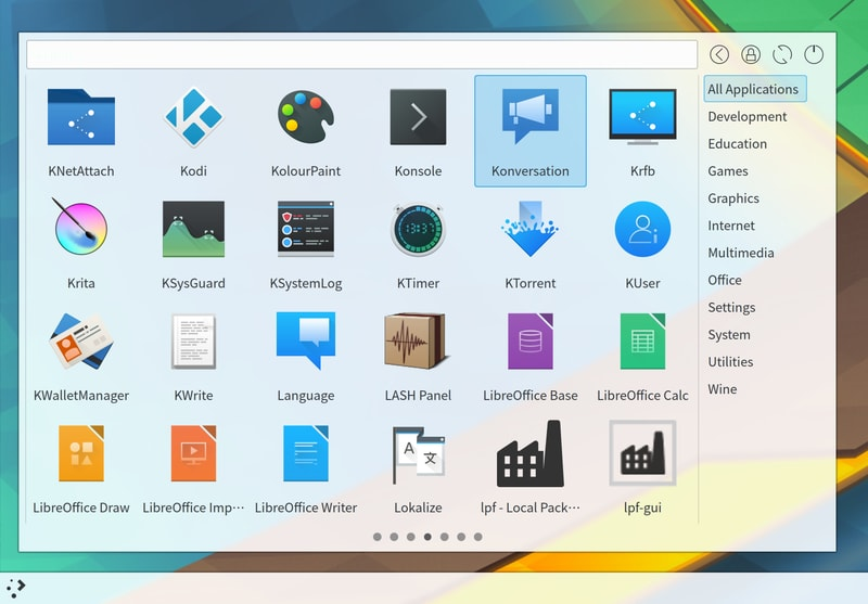 simple_menu - KDE Plasma widgets