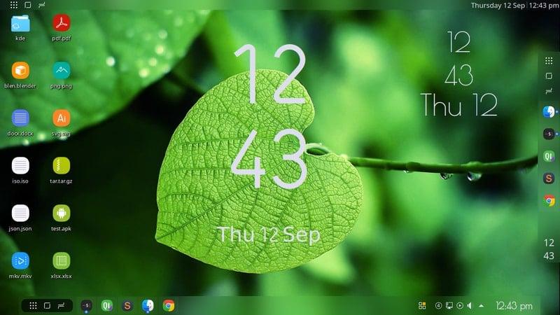 split_digital_clock - KDE Plasma widgets