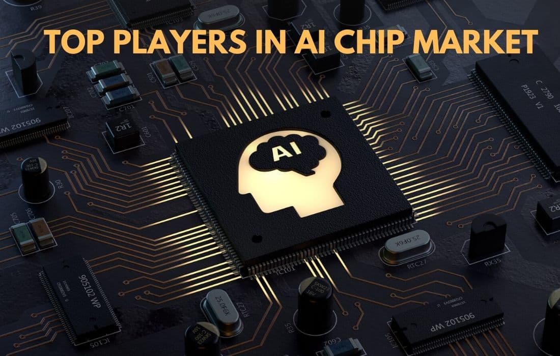 top players in AI chip market