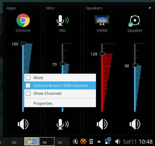 win7_volume_mixer - KDE Plasma widgets