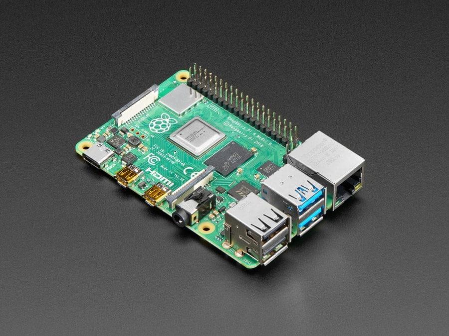 Raspberry Pi 4 Model B (1 GB, 2 GB, 4 GB)
