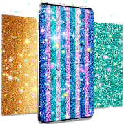 Glitter live wallpaper app for android