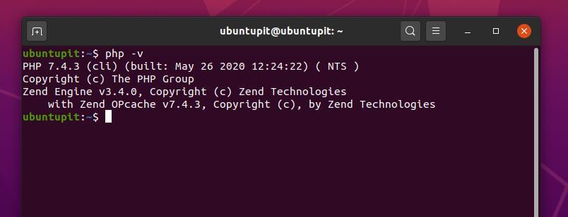 php version moodle learning platform for ubuntu