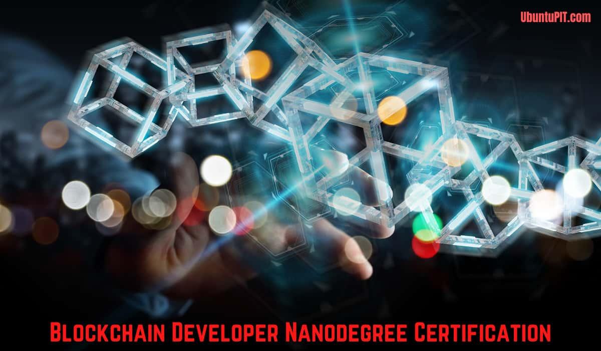 Nanodegree Certification for Blockchain Development