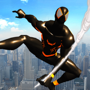Shadow Rope Hero Power, Spiderman game for Android