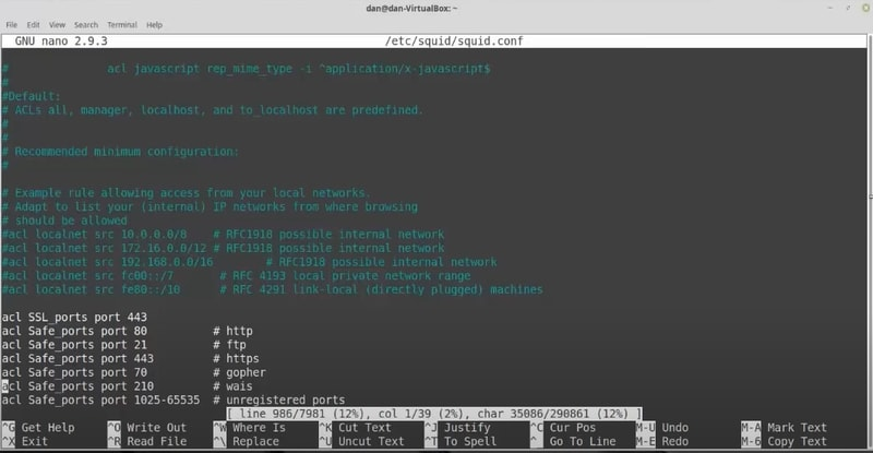 squid - Linux web caches