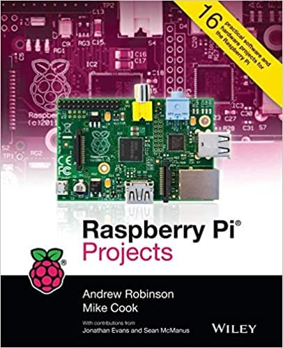 15. Raspberry Pi Projects Book