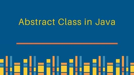 Abstract Class in Java