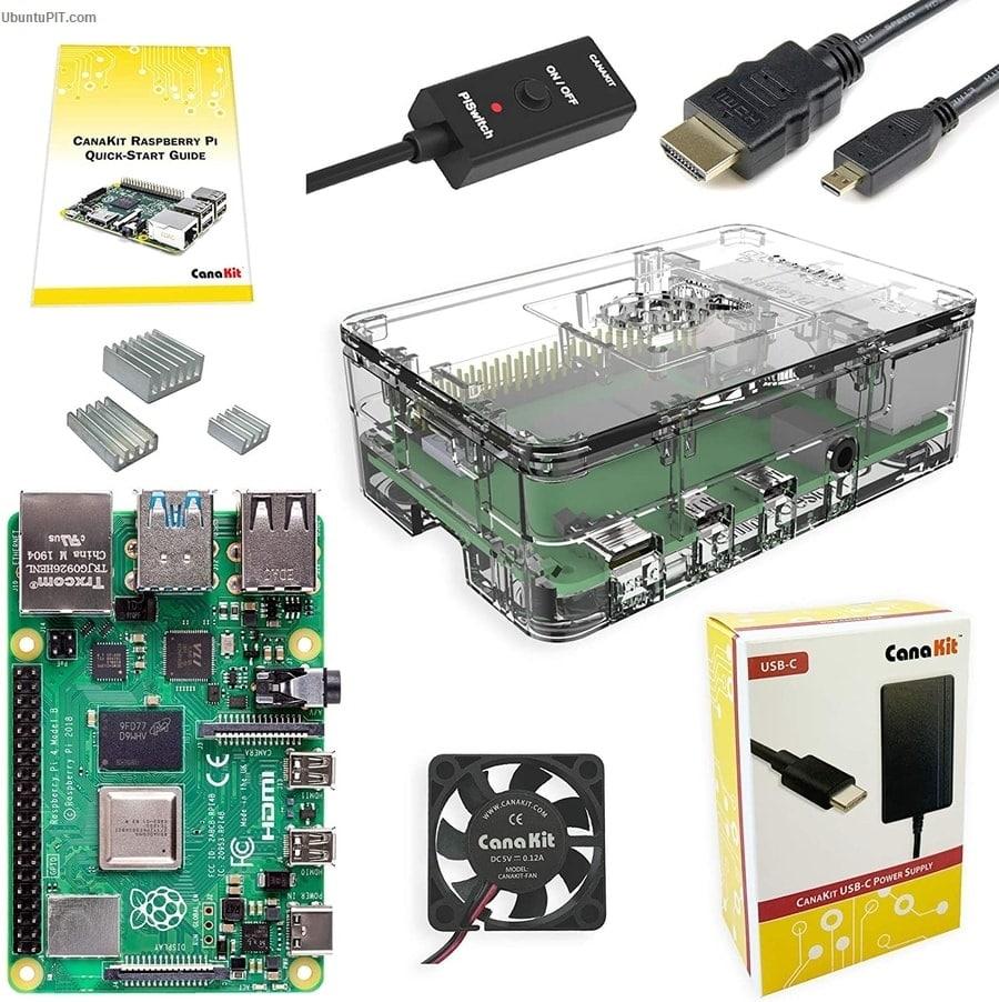 CanaKit Raspberry Pi 4 4GB Basic Starter Kit with Fan