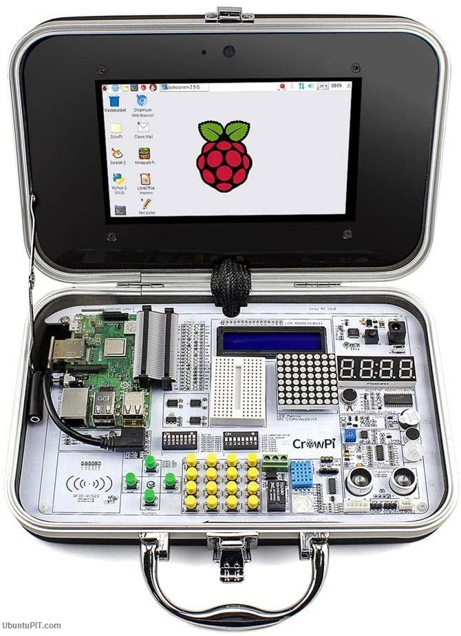 ELECROW Crowpi Raspberry Pi 4B 3B+ Kit for Learning Computer Science