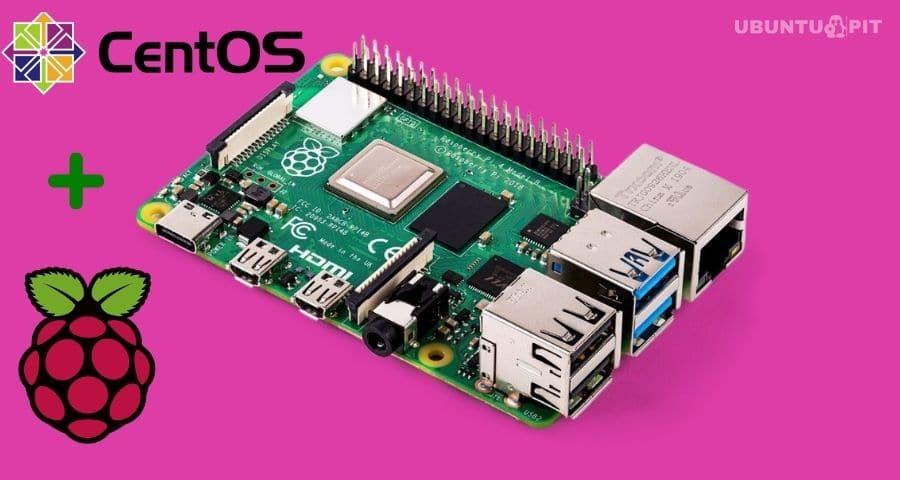 Install CentOS on a Raspberry Pi